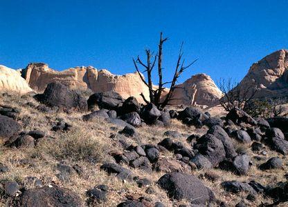 Volcanic Boulder Field, Capitol Reef National Park, Utah