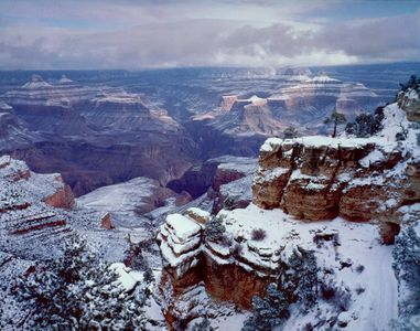 South Rim, Winter, Grand Canyon National Park, Arizona