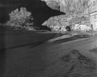 Escalante River Near Davis Gulch, Tributary To The Colorado River In Glen Canyon, 1964