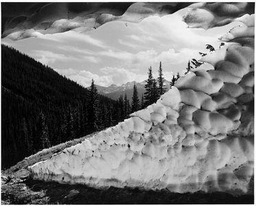 Snow Cave, Cascade Mountains, North Cascades National Park, Washington, 1959.