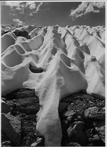 Snow Pockets, Kings Canyon National Park, Sierra Nevada, California