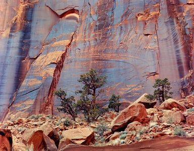 Hyde's Wall, Escalante Wilderness, now Grand Staircase-Escalante National Monument, Utah