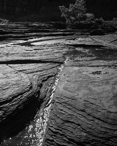 Stream In Horse Canyon, The Maze, Canyonlands National Park, Utah, 1968.