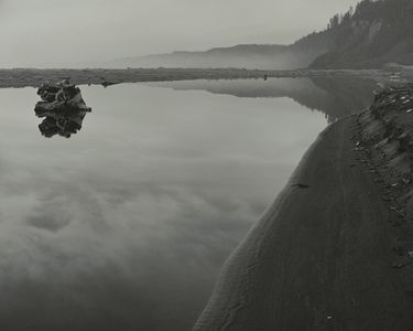Mouth Of Little River Near Trinidad, North Coast, California, 1958.