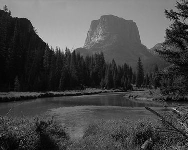 Square Top, Green River Headwaters, Wind River Mountain Range, Wyoming, 1960.