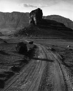 The Road To Lees Ferry Near Navajo Bridge Over Marble Gorge, Grand Canyon National Park, Arizona.