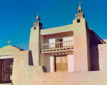 Church At Las Trampas, New Mexico