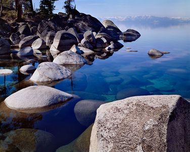 East Shore, Lake Tahoe, Sierra Nevada, California / Nevada