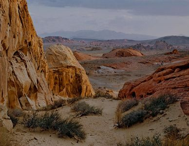 White Domes, Valley of Fire State Park, Nevada