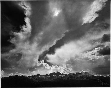 Storm Over The Minarets, Sierra Nevada, Ansel Adams Wilderness, California