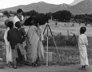 Philip Hyde With Camera, Moroccan Boys, Middle Atlas, Morocco, North Africa