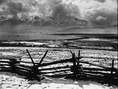 Arlington Ridge Across Indian Valley, Northern Sierra Nevada, California