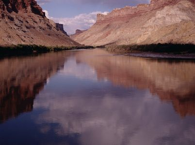 Colorado River In Cataract Canyon, Canyonlands National Park, Utah