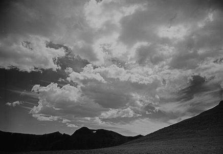 Windswept Pass And Clouds, Yosemite High Country, Sierra Nevada, California