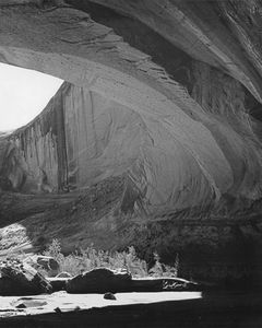 Great Overhang, Moki Canyon, Glen Canyon Of The Colorado River, Utah, 1955