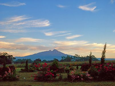 Volcan From South Of Colima, Jalisco, Mexico