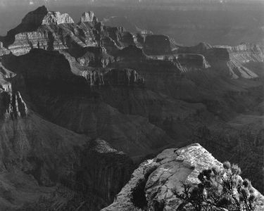 Zoroaster Temple From Bright Angel Point, Grand Canyon National Park, Arizona
