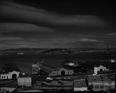Piers, San Francisco Waterfront, California.