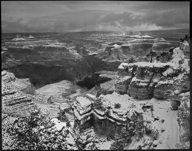 South Rim, Winter, Grand Canyon National Park, Arizona, 1964.