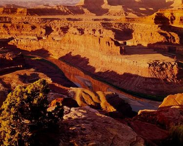 Colorado River From Dead Horse Point, Dead Horse Point State Park, Utah