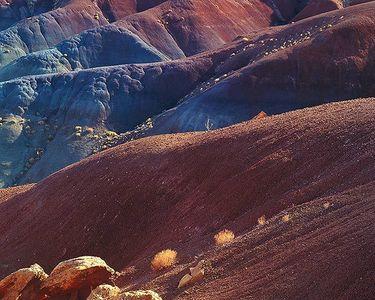 Chinle Shales, Circle Cliffs, Vermillion Cliffs National Monument, Utah, 1982.