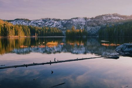 Evening, Silver Lake, Bucks Lake Wilderness Near Quincy, Plumas County, Northern Sierra Nevada, California, copyright 2014 by David Leland Hyde.