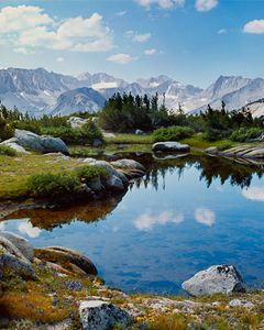 Pioneer Basin, Fourth Recess, John Muir Wilderness, Sierra Nevada High Country, California