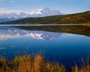 Mt. Denali, Wonder Lake, Brooks Range, Denali National Park, Alaska