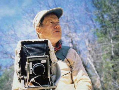 Philip Hyde With View Camera By Steve Dunsky, US Forst Service, Northern Sierra Nevada, California