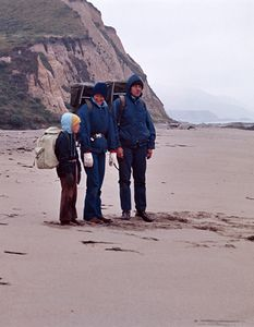 The Hydes On Drake's Beach, Pt. Reyes National Seashore, California
