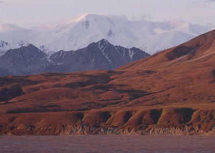 Mt. Mather, Thorofare River, Brooks Range, Denali National Park, Alaska