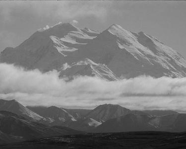 Mt. Denali From Stony Hill, Brooks Range, Denali National Park, Alaska, 1971.