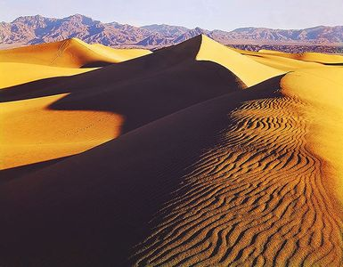 Dunes At Stovepipe Wells II, Death Valley National Park, California.