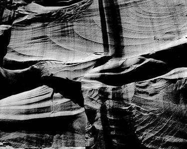 Sculptured Wall, Cathedral Canyon, Glen Canyon Of The Colorado River, Utah, 1962
