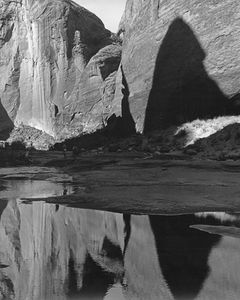 Aztec Creek In Forbidden Canyon Below Rainbow Bridge National Monument, Utah, 1962.