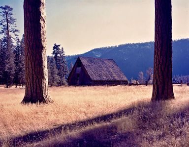 Barn, Genesee Valley, Northern Sierra Nevada, California