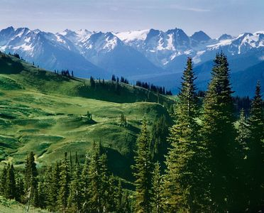 Tenpeak Range, North Cascades National Park Washington