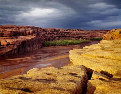 Stormlight, Canyon De Chelly National Monument, Arizona