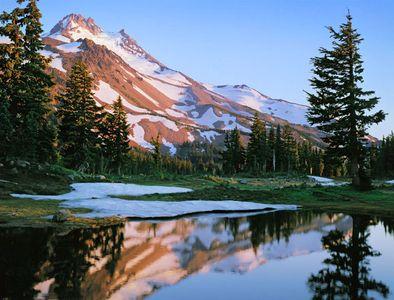 Mt. Jefferson, Jefferson Wilderness Area, Oregon Cascades