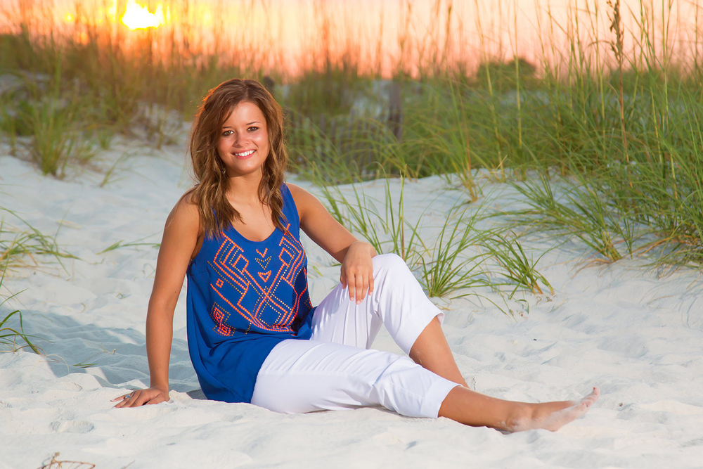 Professional Senior Beach Portrait
