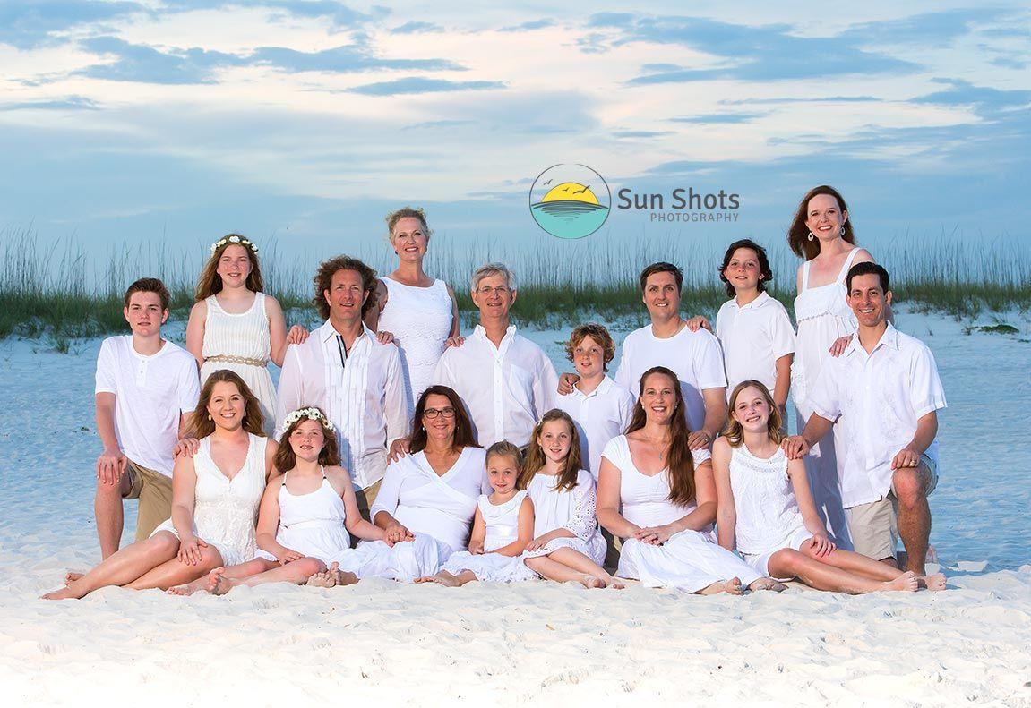 Family reunion in Gulf Shores, Alabama