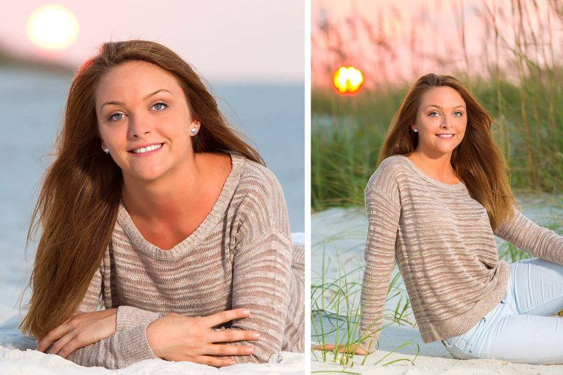 Senior portraits in Gulf Shores