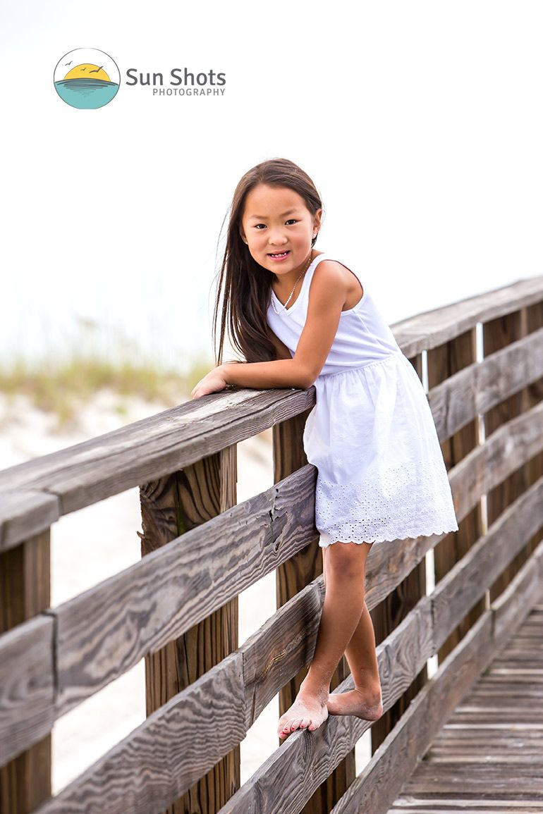 Family portraits in Gulf Shores, Alabama