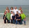 Large Family Beach Portrait