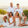 Image of family at beach