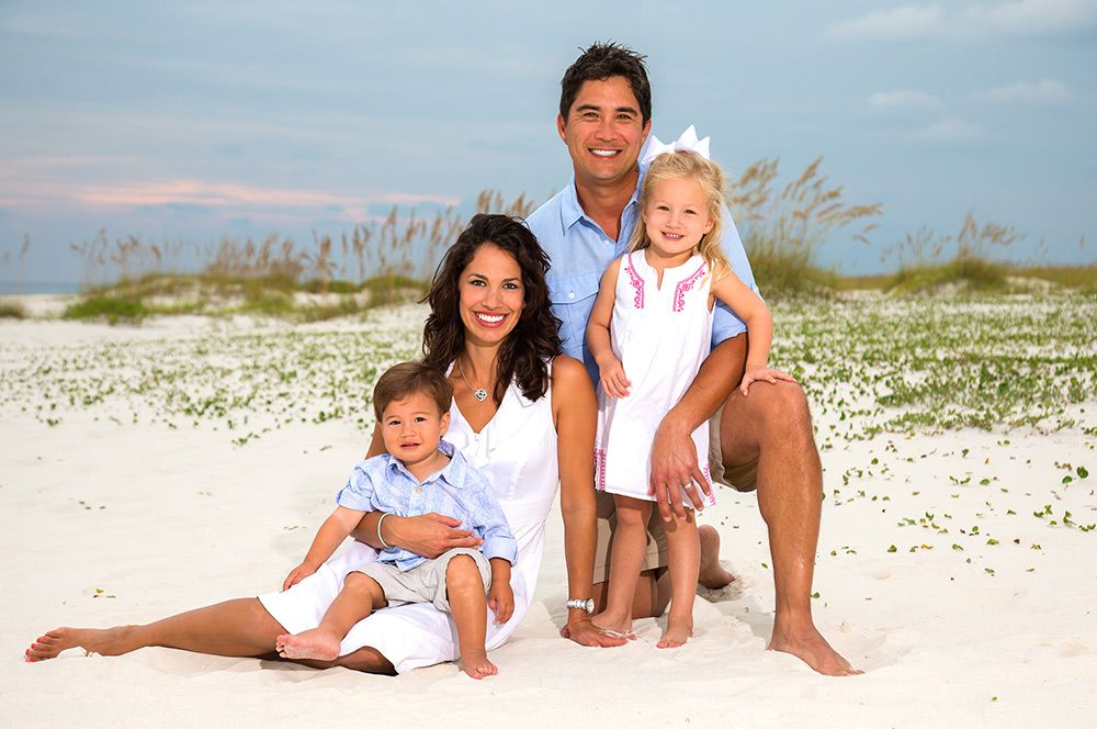 Professional beach photographer in Orange Beach, Alabama