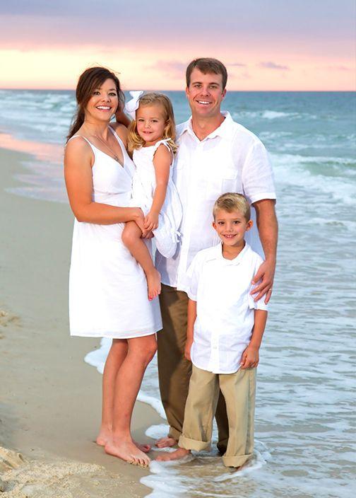 Family Beach Portrait Ideas