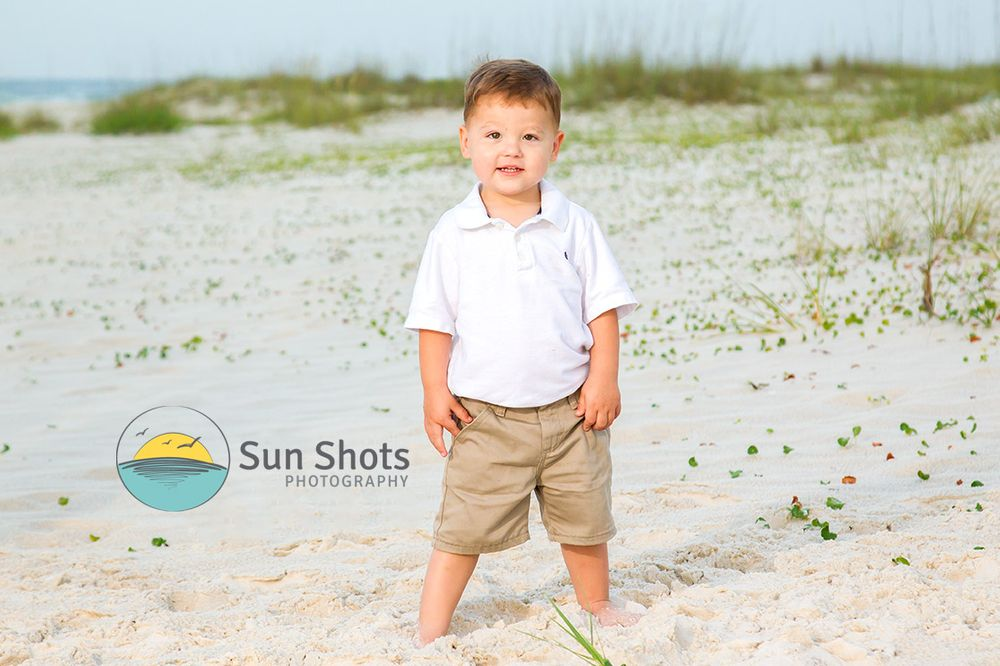 Professional beach pictures for your family.