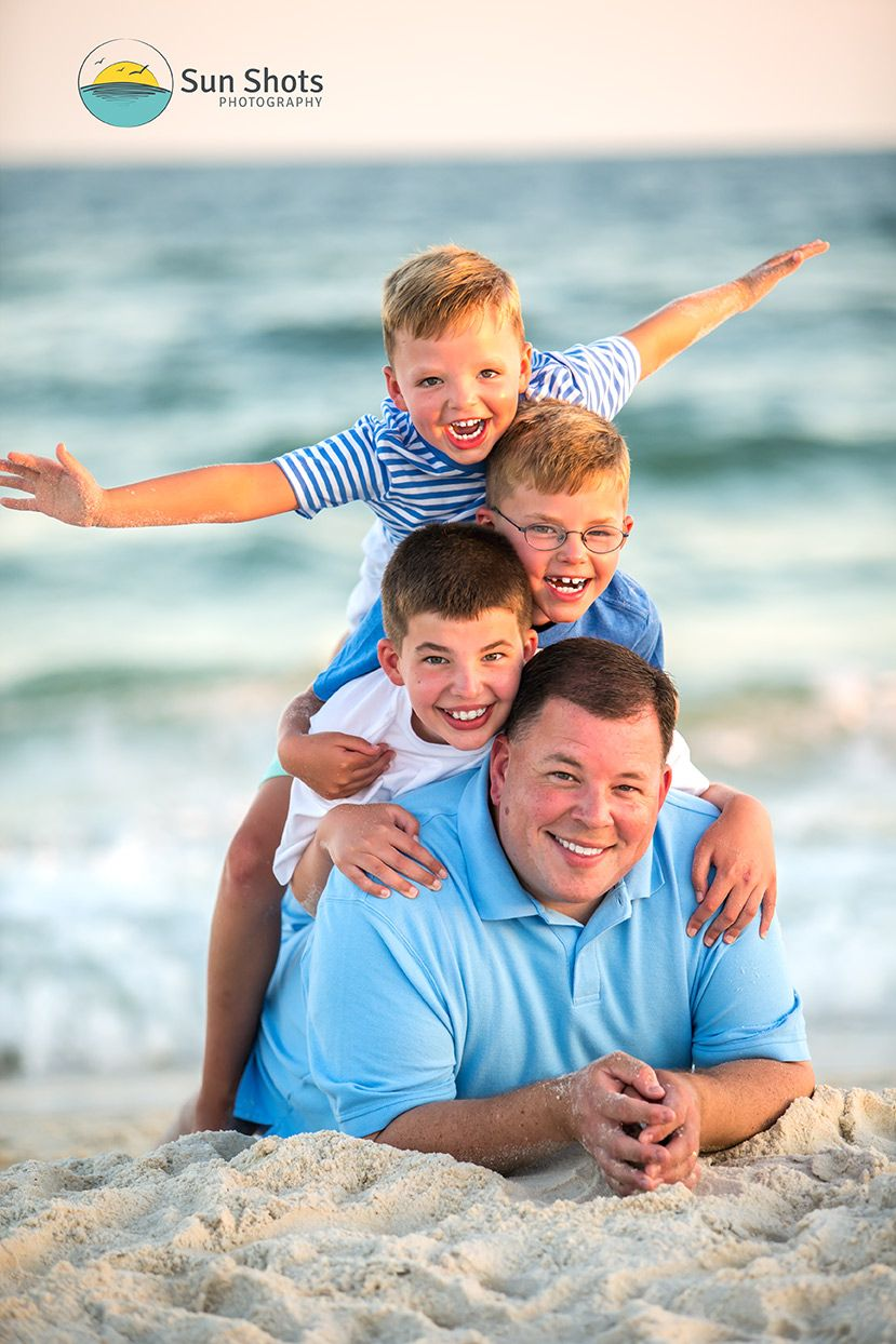 Orange Beach Sunset Family Portraits