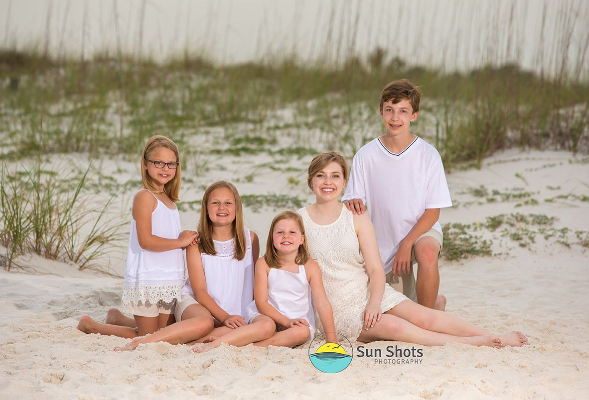 Professional family photography on the beach in Perdido Key